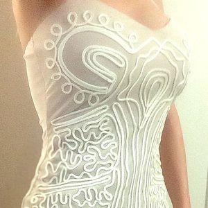 Angel Mini Dress Sz M