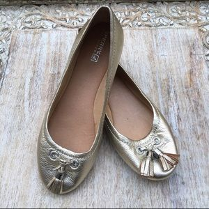 Sperry Top-Sider Shoes - Metallic Gold Sperry Top Siders