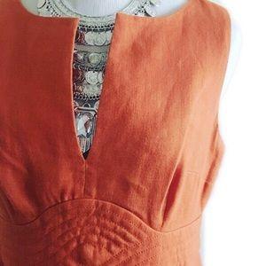 Banana Republic Dresses & Skirts - Banana Republic tangerine colored dress
