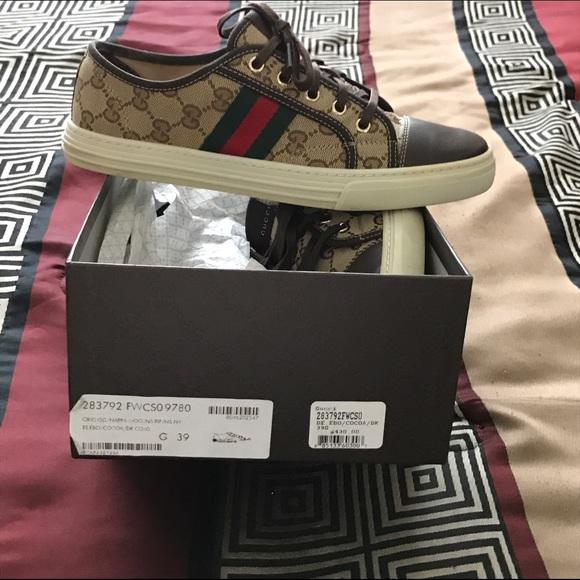 b49c4f589 Gucci Shoes | Unisex Sneakers Size 39 In Women 9 | Poshmark