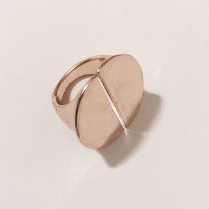 Jewelry - Modern Golden Shield Ring
