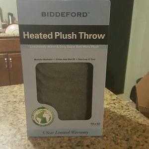 Biddeford  Other - Biddeford heated plush throw