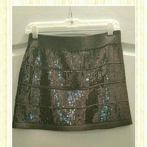 Sequins twenty one mini skirt