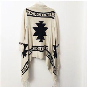 Crochet Tassel Boho Cardigan