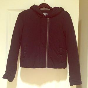 🎉HP🎉James Perse Wool Blend Hooded Jacket