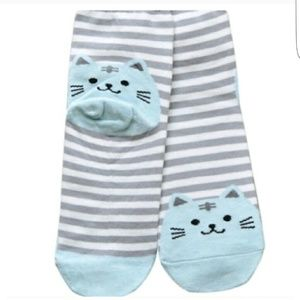 WILA Accessories - 🐱NWT🐱Adorable Kitty Ankle Socks