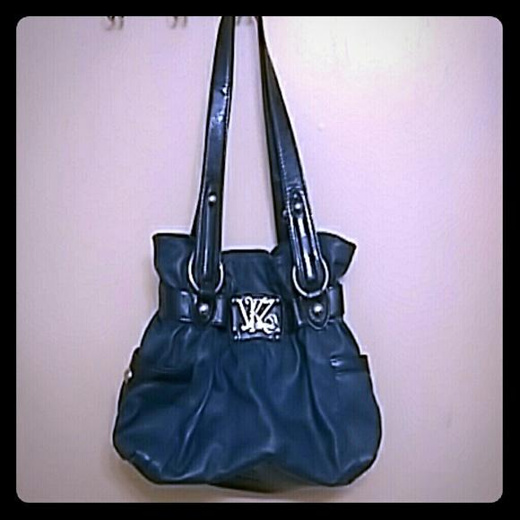 Kathy Van Zeeland Handbags - Blue Kathy Van Zeeland Purse 37c4cb942e631
