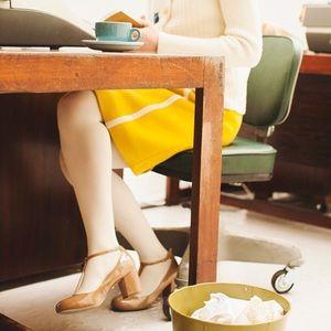 Orla Keily Shoes - Kurt Geiger daphine patent t bar shoes Orla Kiely