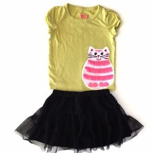 Circo Other - Kitty Tee and Tutu Skirt