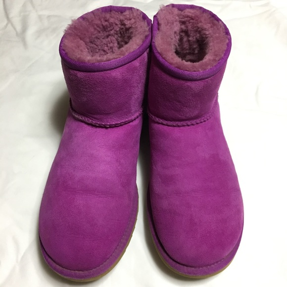 Classic Mini Purple UGG Boots