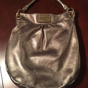 Marc by Marc Jacobs Hillier Hobo- Pewter