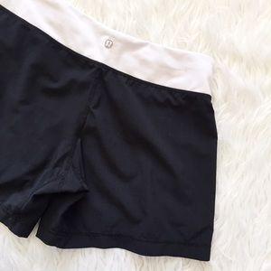 lululemon athletica Pants - • Lululemon • Pinstripe Shorts