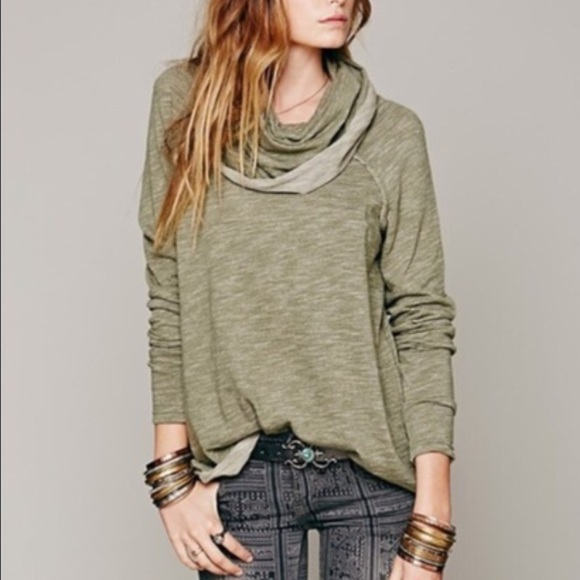 ff40e0066c Free People Sweaters | Fp Beach Cocoon Cowl Neck Pullover | Poshmark