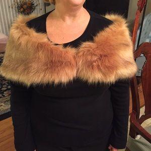 Tevolio Jackets & Blazers - NWOT faux fur wrap prom spring ball formal vegan