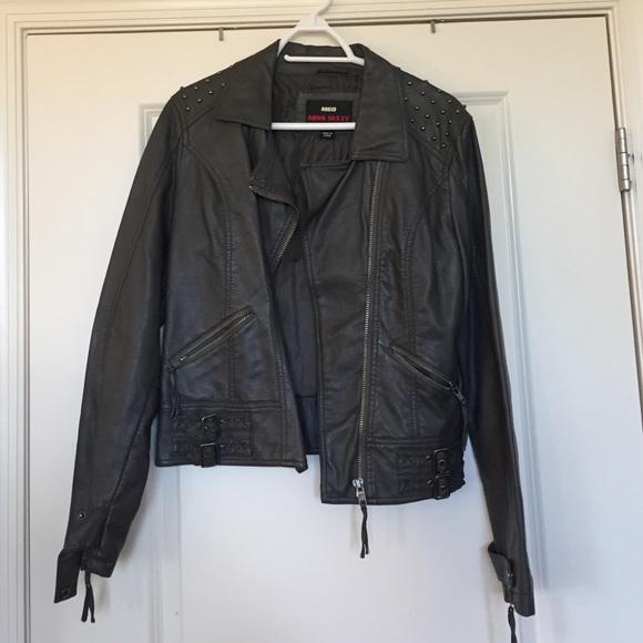 Miss me leather jacket