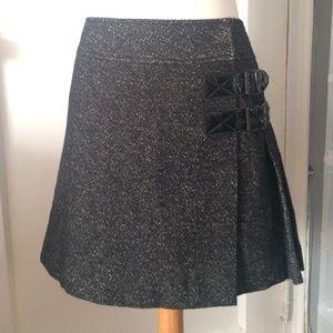 EDUN Dresses & Skirts - EDUN WOOL PLEATED MINI SKIRT
