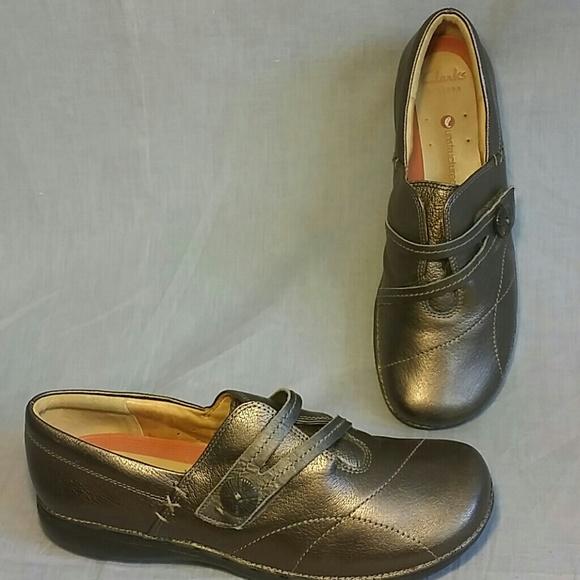 Clarks Shoes - Clarks Artisan unstructured Shoes Silver 8.5 M 3046d6472d