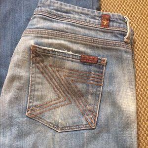 Size 29 7fam jeans