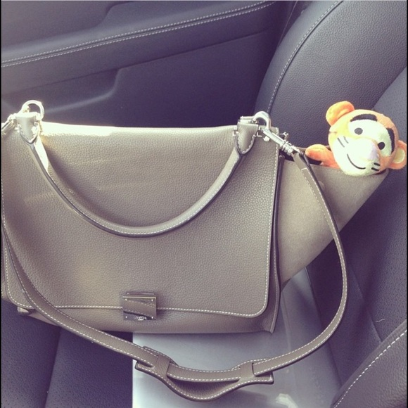 9d2e7df18a Celine Handbags - CELINE Medium Trapeze Bag in Grey