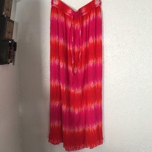 Cato Dresses & Skirts - tie dye maxi skirt 18 NWT