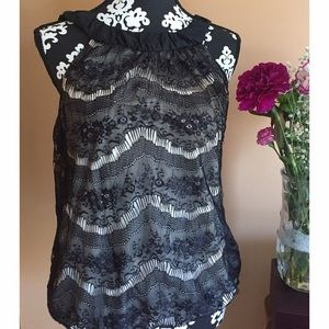 Wrapper Tops - Wrapper nude lace top