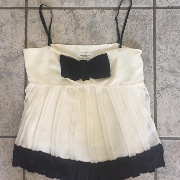 395f9be9d241f9 Isaac Mizrahi Tops - Isaac Mizrahi for Target Velvet Bow Cami