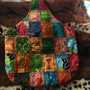 Handbags - Patchwork tote