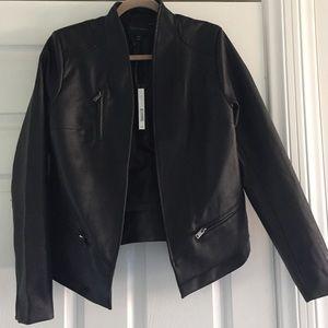 Harve Benard Jackets & Blazers - Harve Bernard faux leather jacket