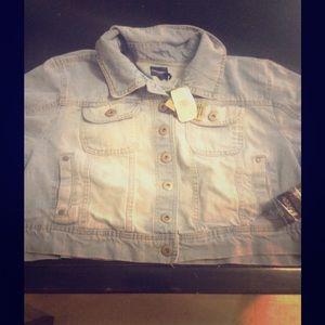 Jean jacket XL NWT