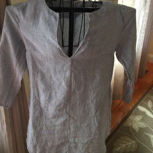 Breezy linen Tunic by Soft Surroundings