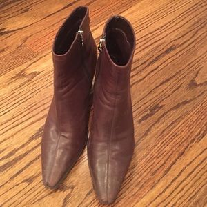 Rockport Shoes - Rockport Pointed Toe Heeled Booties - Size 10