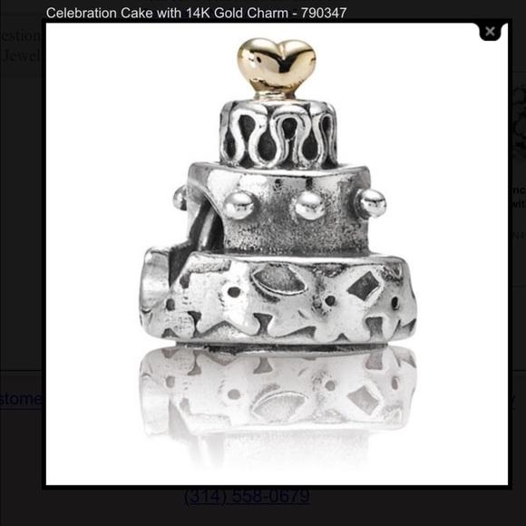 Pandora Wedding Cakes Charms