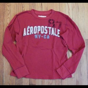 Aeropostale Other - Aeropostale Men's Red Thermal Shirt Sz M