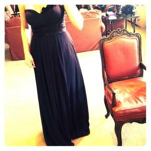 Bill Levkoff Dresses & Skirts - Dark purple bridesmaid dress