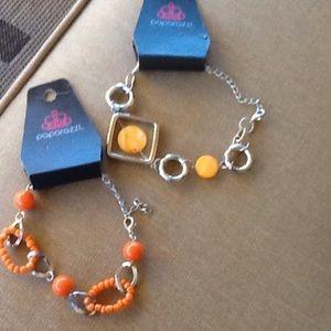 Paparazzi Jewelry - Set of 2 Paparazzi Bracelets...New with tags