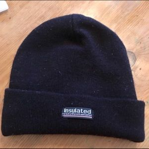 Other - Black insulated winter hat