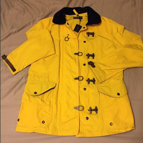 official supplier Super discount high quality guarantee Polo RalphLauren Men's Mackintosh Slicker Raincoat NWT