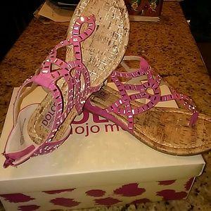 Mojo Moxy Shoes - NIB Stunning Blinged Out Sandels