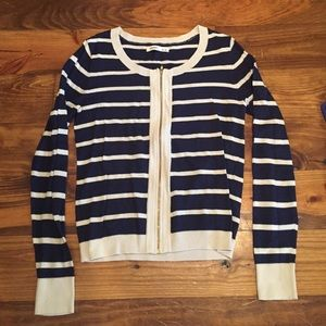 Striped Old Navy cardigan size M