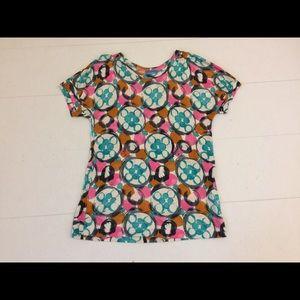 Simply Vera by Vera Wang Patterned Tshirt