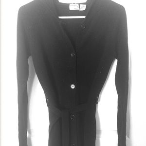 Black Cardigan Sweater!