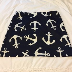 J.Crew Factory Anchor Skirt