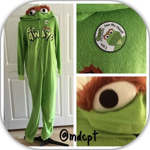 Oscar The Grouch Union Suit