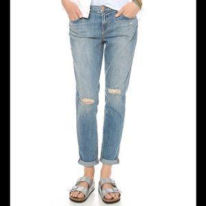 J Brand Destroyed Boyfriend Jeans - Size 25