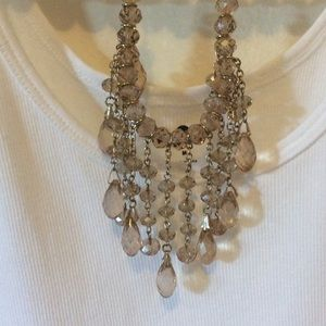 Saks Fifth Avenue Glass Bead Necklace