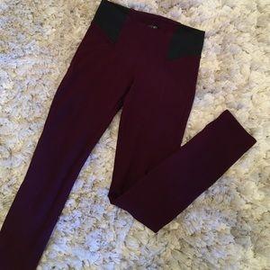 Copper Key Pants - Copper Key Maroon Jeggings