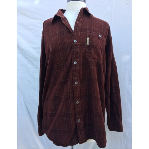 94cf982e4f4 Columbia Tops | Corduroy Flannel Long Sleeve Button Up | Poshmark
