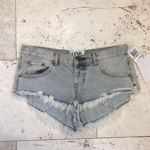 New One Teaspoon Shorts - Bonita's Size 27