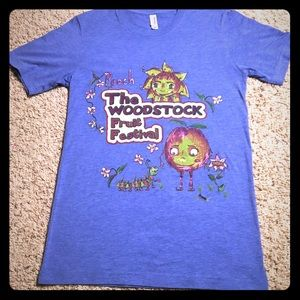 Vintage Paper Thin Woodstock Fruit Festival Tee