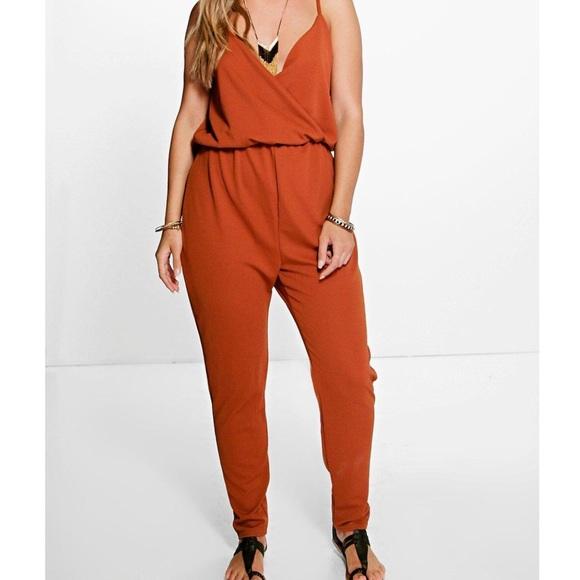 7ae4ead518c Burnt Orange Jumpsuit